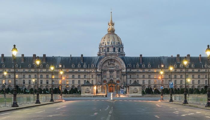 les invalides - Rugby Tours to Paris