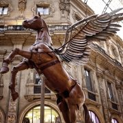 Pegasus Monument - Irish Rugby Tours, Rugby Tours To Milan