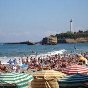 Biarritz Beach - Irish Rugby Tours, Rugby Tours To Biarritz
