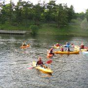 Kayaking, Creggan Country Park - Irish Sporting Tours