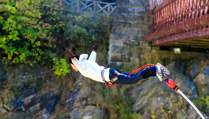 Bungee Jumping - Rugby Tours To Bratislava