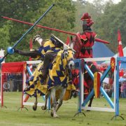 Jousting Warwick Castle - Rugby Tours To Warwick