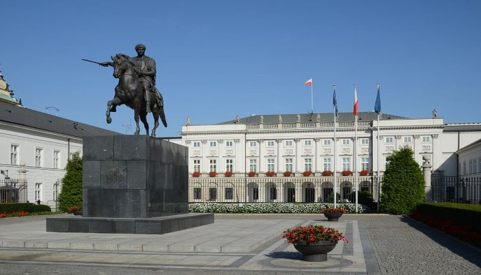 Presidential Palace - Rugby Tours To Warsaw, Irish Rugby Tours