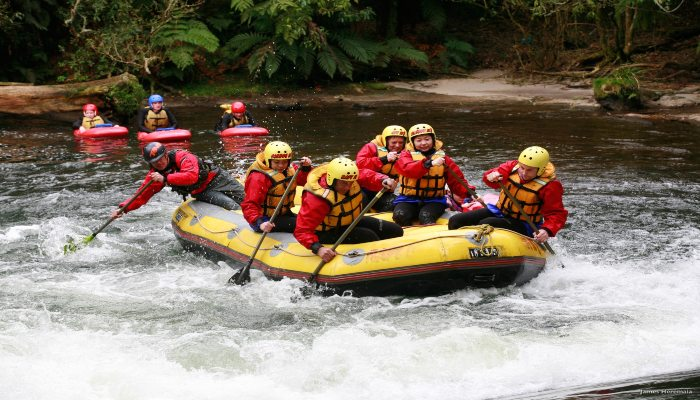 White Water Rafting - Rugby Tours To Rotorua, Irish Rugby Tours