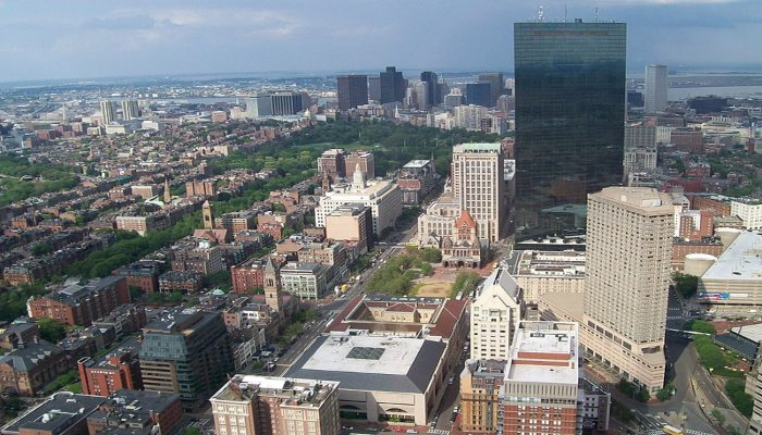 Boston From Observatory Tower - Photo Credit George Miquilena - Rugby Tours To Boston, Irish Rugby Tours