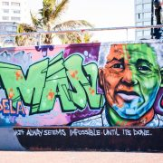 Mandela Graffiti - Rugby Tours To Durban, Irish Rugby Tours