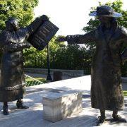 Ottawa Statues - Rugby Tours To Ottawa, Irish Rugby Tours