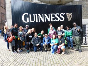 Irish Rugby Tours at the Guinness Storehouse
